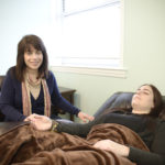 Donna Bloom with Client at Wise Mind Hypnosis, Long Island