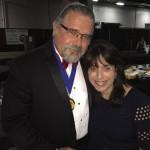 Donna Bloom with Cal Banyan at the NGH 2015 banquet.