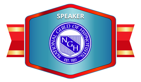 Nation Guild of Hypnotists Speaker Badge for Donna Bloom, Long Island Hypnosis