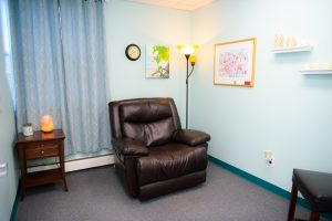 Wise Mind Hypnosis Therapy Room
