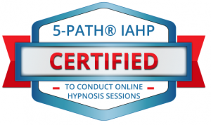 Certification Badge to Conduct Online Hypnosis Sessions