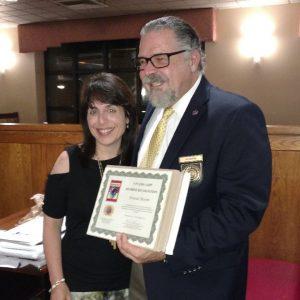 Donna Bloom, Long Island Hypnotist with Calvin Banyan
